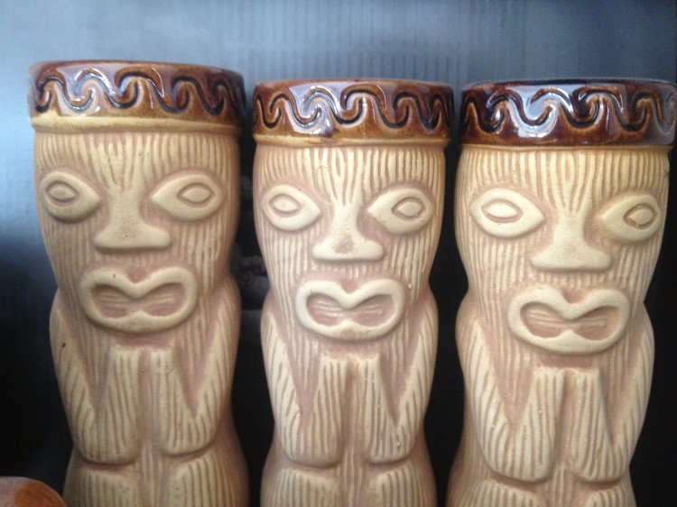 The tikis are watching...